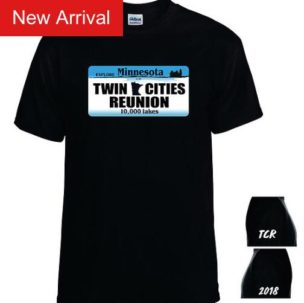 Twin Cities Reunion T-shirts are on Sale Now!!