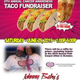 Taco Fundraiser For Cancer Awareness in St. Paul